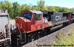 CN 5743 (SD75I) (KansasScanner) Tags: shawnee zarah kansas bnsf railroad train