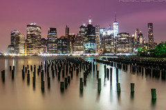 Manhattan (noaxl.berlin) Tags: manhatten sony a7rii samyang rokinon walimex 14mm newyork ny architektur architecture skyscraper night brooklyn lights skyline bridge stars