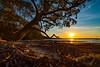 Spring Sunset (Andy Hutchinson) Tags: australia booderee 7dmarkii drone jervisbay sunset holeinthewallbeach nsw jervisbayterritory au