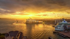 Manly Bound (Howie44) Tags: sydneyharbour sydney ferries australia sunrise operahouse