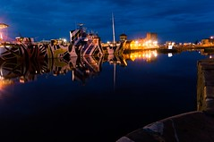 (Graham Paton) Tags: edinburgh docks leith dazzleship windsorcastle fingal