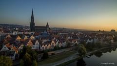 Sunrise over Ulm (Germany) (Thomas Bartelds Photography) Tags: neuulm bayern duitsland de