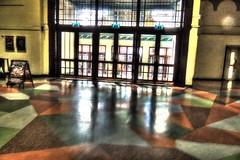 reflections in winter garden (thesettlementgroup) Tags: glass door reflection floor