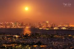 Happy Moon Festival (wenjieqiao) Tags: california unitedstates us sandiego planitforphotographers planit moonrise
