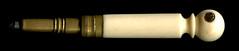 Kleiner Bleistift, aus Bein, gedrechselt mit Guckloch (altpapiersammler) Tags: old vintage alt pencil reiseandenken bleistift