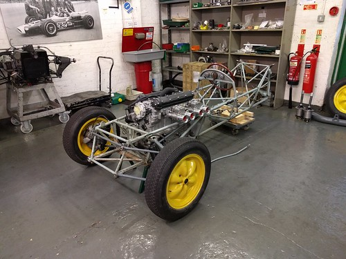 Beginning restoration of the Lotus Type 12