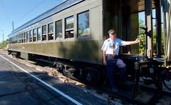 Conductor (Mike Miley) Tags: historic httpirmorg il illinoisrailwaymuseum irm lackawanna museum passenger pullman rail railroad train transportation union