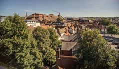 View from Willis Building roof garden. (Gordon Haws) Tags: willisbuildingipswich willisbuilding willisgroupholdings normanfosterassociates normanfoster modernist curtainwall openplan