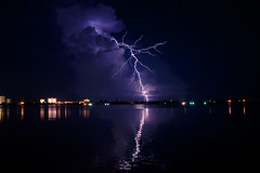 Lightning from the Lagoon _2 (purduebob) Tags: docks lightning