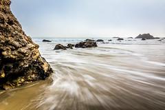 Go with the flow, or go against the tide. (GeoShubin) Tags: california el elmatadorstatebeach matador ocean pacific rocks waves beach sand southern