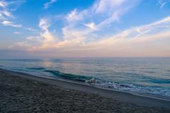 Beach at Sunset (laurenspies) Tags: bethanybeach bethany delaware usa beach atlanticocean water coast eastcoast sunset