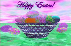 DREAMY IRRIDESCENT EASTER EGGS (fantartsy JJ *2013 year of LOVE!*) Tags: color reflection easter happy frame bubble bryce fractalart blueribbonwinner holidaycolors bej anawesomeshot takenwithlove flickrdiamond realisticfantasyart
