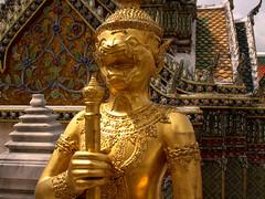 Grand Palace (95) (David OMalley) Tags: asian thailand temple gold golden asia bangkok mosaic buddha buddhist south royal buddhism grand palace east thai southeast oriental orient wat gilded emerald thep phra kaew krung