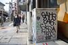 (J.F.C.) Tags: japan graffiti tokyo mq same bbb 246 mkue sayme gkq