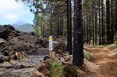 Mount Teide from Chinyero path, Tenerife (Snapjacs) Tags: walking volcano lava tenerife canaryislands bruma lowcloud lavafields mountteide chinyero