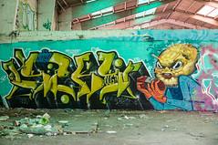La Fabrica - 35 (r2hox) Tags: graffiti urbanart santiagodecompostela arteurbano abandonedspaces