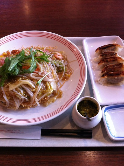 リンガーハット/皿うどん・ギョウザ