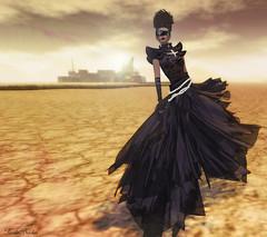 Revolt (Ruriko-very busy-Moving in RL) Tags: fashion azul blog sl gown dryland