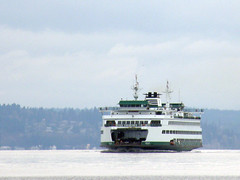 #7718 Washington State Ferry approaching Seattle (Nemo's great uncle) Tags: seattle sea ferry washington wa pugetsound  washingtonstateferry