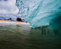 sandys 4/18/13-1 (R.C.W. Photography) Tags: ocean morning beach water canon hawaii surf waves oahu sandybeach shorebreak bigwave sigma1020 2013 splwaterhousing