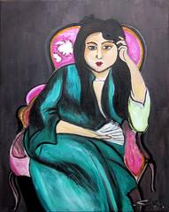 "Laurette (after Matisse) • <a style=""font-size:0.8em;"" href=""https://www.flickr.com/photos/78624443@N00/8661715270/"" target=""_blank"">View on Flickr</a>"