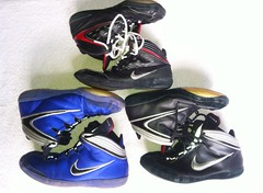 Kolat Family (Zzavatsky (SELLING ALOT 7248753248)) Tags: blue black west 2000 wrestling nike og asics olympic adidas edition rare oe speeds teals germans p2s aggressors persuits adizero p1s kolat rulons kolats inflicts footsweeps speedsweeps uploaded:by=flickrmobile flickriosapp:filter=nofilter