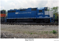 GMTX GP38-2 2675 (Robert W. Thomson) Tags: railroad train diesel tennessee railway trains locomotive trainengine geep etowah emd gp382 gp38 gatx gmtx fouraxle