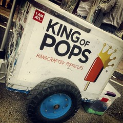 King of Pops (Greg Foster Photography) Tags: street atlanta mobile georgia square phone atl cell galaxy squareformat vendor s3 popsicles earlybird gs3 iphoneography kingofpops instagram instagramapp uploaded:by=instagram