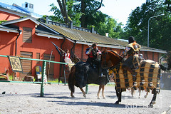Рыцарский турнир (kidfinland) Tags: horse beautiful finland fight turku princess tournament sword axe knight spear horseman executioner chivalrouscompetitions