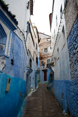 DSC_0146 (abarker) Tags: africa travel blue architecture morocco medina chefchouen chouen geocity exif:iso_speed=200 exif:focal_length=18mm camera:make=nikoncorporation camera:model=nikond90 exif:make=nikoncorporation exif:lens=180550mmf3556 geostate geocountrys exif:model=nikond90 exif:aperture=ƒ40