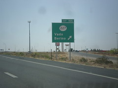 I-10 East - Exit 155 (sagebrushgis) Tags: newmexico sign intersection i10 vado biggreensign freewayjunction nm227