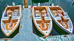 Threesome (stephencurtin) Tags: california usa color boats coast harbor rental southern photograph balboa thechallengefactory stephencurtin