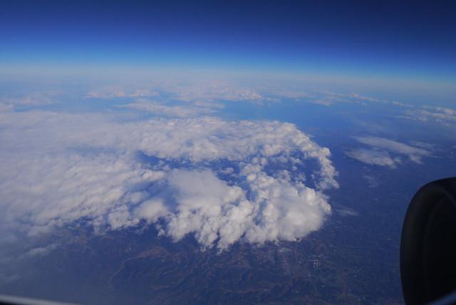 飛行機からの景色|