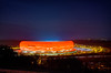 Allianz Arena - Champions League (hjuengst) Tags: longexposure red rot night munich münchen football nightshot stadium soccer 40 bluehour blau stadion fcbarcelona allianzarena langzeitbelichtung fcbayern blauestunde fusball fussballstadion halbfinale rotrossorougerood nikond7000hdr