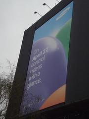 greatbritain england rain birmingham unitedkingdom samsung billboard raining westmidlands swallowst suffolkstqueensway brunelst samsunggalaxys4