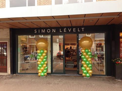 Ballonpilaar Breed Rond Simon Levelt Rotterdam Hillegersberg