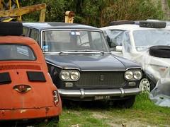Fiat 1300 (Alessio3373) Tags: abandoned rust fiat rusted scrap abandonment rustycars abandonedcar scrapyards scrappedcar fiat1300