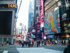 Times Square (stfusakora_) Tags: new york city square times nicki minaj