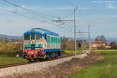 997 - 341_1041 A BATTIFOLLE (AREZZO) 13 - 4 -2013 ASSISTENZA PER VIAGGIO INAUGURALE VIVALTO (Frank Andiver TRAIN IN TUSCANY) Tags: italy train canon frank photo italia photos rail trains tuscany rails locomotive toscana treno fs trenitalia treni ferrovie binario andiver