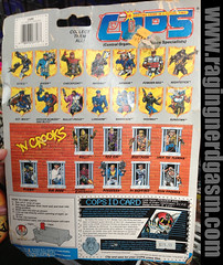 COPS Action Carded Figures Powder Keg by Hasbro  (2) (Raging Nerdgasm) Tags: by tom cops action powder keg figures hasbro raging carded rng nerdgasm khayos