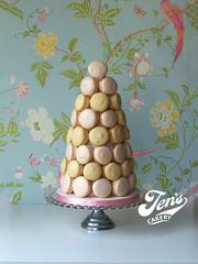 Macaron Tower (Jen's Cakery) Tags: tower pyramid macaroon macaron jenscakery