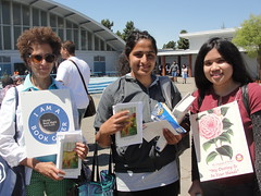 World Book Night Volunteer Group Book Givers @ Tennyson High School - April 23, 2013 - Hayward, California - 5682 (Hayward Public Library) Tags: california reading libraries books literacy thelanguageofflowers cityofhayward 94541 haywardpubliclibrary vanessadiffenbaugh worldbooknight2013