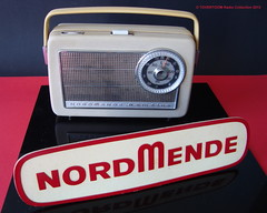 NORDMENDE Portable Transistor Radio (W-GERMANY 1962) (MarkAmsterdam) Tags: old classic sign metal museum radio vintage advertising design early tv portable colorful fifties tsf mark ad tube battery engineering pickup retro advertisement collection plastic equipment deck tape electronics era handheld sheet catalog booklet collectible portfolio recorder eames electrical atomic brochure console folder forties fernseher sixties transistor phono phonograph dealer cartridge carradio fashioned transistorradio tuberadio pocketradio 50s 60s musiktruhe tableradio magnetophon plaskon 40s kitchenradio meijster markmeijster markamsterdam coatradio tovertoom