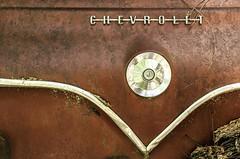 (rickhanger) Tags: chevrolet abandoned rust automobile rusty rick automotive chevy chrome insignia hanger abandonedcar junkcar rickhangerphotography