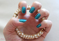 Zoya-Charla-with-bracelet-by-Chic-n-Cheap-Living1 (Chic 'n Cheap Living) Tags: zoya nail polish jewelry nails manicure
