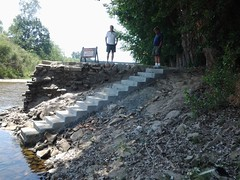 New Stairs Into Kings River