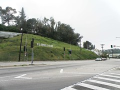 Verdugo Road with Glassellland Sign (lavocado@sbcglobal.net) Tags: sign losangeles neighborhood temporary nela glassellpark