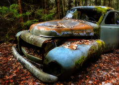Pride of a Nation (jensvins) Tags: car volvo decay cemetary ghost wreck derelict pv 444 hss tcksfors bstns