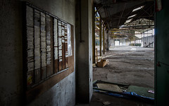 Planning factory. (Olivier G35) Tags: planning usine urbex industriel