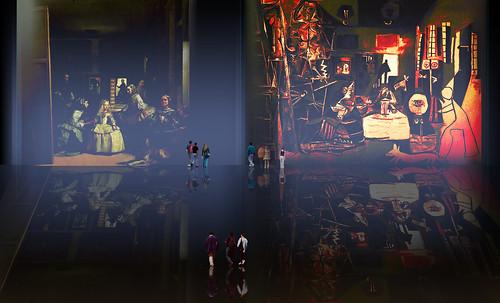 """Meninas, iconósfera de Diego Velazquez (1656), estudio de Francisco de Goya y Lucientes (1778), paráfrasis y versiones Pablo Picasso (1957). • <a style=""""font-size:0.8em;"""" href=""""http://www.flickr.com/photos/30735181@N00/8746869297/"""" target=""""_blank"""">View on Flickr</a>"""